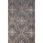 Ashton Loden/Silver 8 ft. x 10 ft. Area Rug