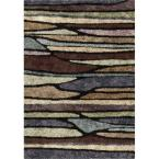 Blue Meadow Multi 5 ft. 3 in. x 7 ft. 6 in. Indoor Area Rug