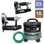 4-Piece 2 in. Finish Nailer, 1-3/8 in. Pin Nailer, 6-Gal. Compressor and 25 ft. Air Hose Kit