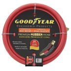Premium 5/8 in. x 50 ft. Commercial Grade Rubber Red-Hot Water Hose