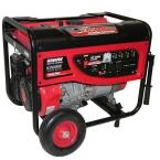 5,200 Continuous Watt Gasoline Powered Portable Generator with No-Flat Wheels-EPA and Carb Approved