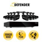 8 CH 500GB Hard Drive Surveillance System with (8) 480 TVL Cameras