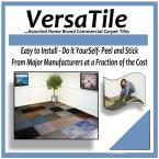 Assorted Commercial 2 ft. x 2 ft. Carpet Tile (10 tiles/case-40sqft.)