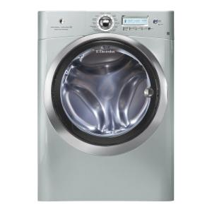Electrolux 4.4 cu. ft. High-Efficiency Front Load Washer with Steam in Silver Sands, ENERGY STAR