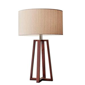 Adesso Quinn 24 inch Brown Table Lamp by
