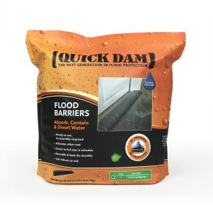 Quick Dam 6 In X 17 Ft Expanding Barrier Qd617 1 The