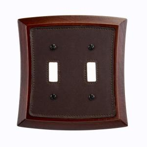 Amerelle Napa 2 Toggle Wall Plate