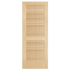 steves sons full louver unfinished pine interior door