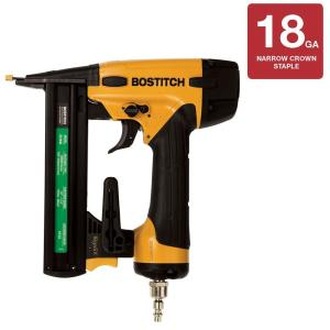 Bostitch 1-1/2 in. 18-Gauge Narrow Crown Finish Stapler