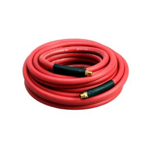 Grip-Rite 3/8 in. x 100 ft. Industrial Red Rubber Air Hose