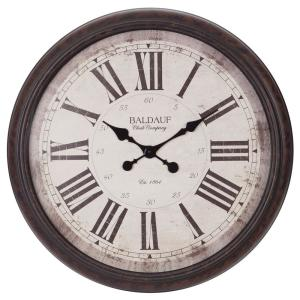 Oversized 23 In Wall Clocks Clocks The Home Depot