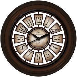 FirsTime 29 inch Round Majestic Hollow Wall Clock