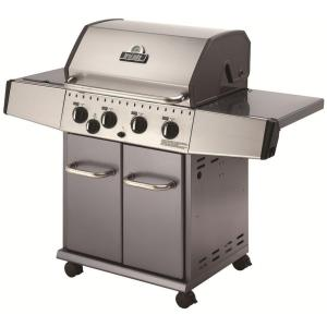Broil-Mate 4-Burner Stainless Steel Natural Gas Grill