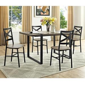 Walker Edison Furniture Company Urban Blend 60 In Driftwood Wood Dining Table Hdw60ubtag The