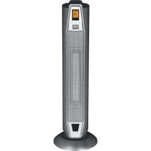 SPT 28.5 inch 1500 - Watt Oscillating Tower Ceramic Heater with Thermostat and Remote by Ceramic Heaters
