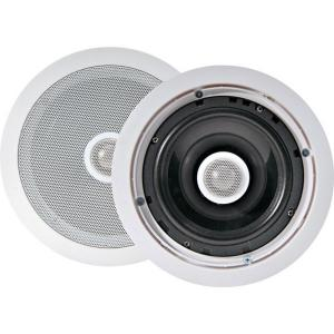 Pyle 6.5 in. 250-Watt 2-Way In-Ceiling Speakers-DISCONTINUED