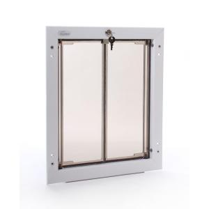 dog door requires no replacement flap pd wall lg wh the home depot