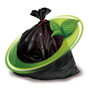 Mint-X in Garbage Bags