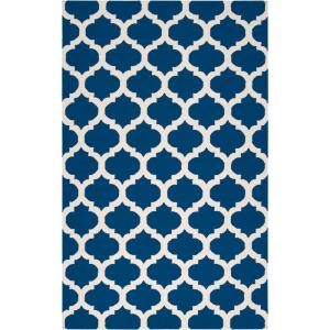 Trondheim Royal Blue 5 ft. x 8 ft. Flatweave Area Rug