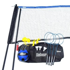 Hathaway Volleyball/Badminton Complete Combo Set by Hathaway