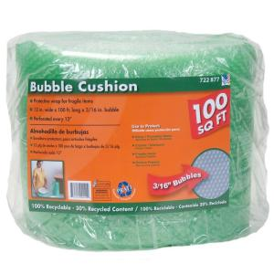 Pratt Retail Specialties 3/16 in. x 12 in. x 100 ft. Bubble Cushion