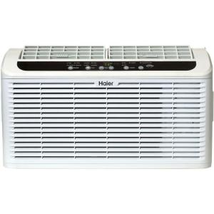 Haier Serenity Series 6,050 BTU 115-Volt Window Air Conditioner with LED Remote Control by