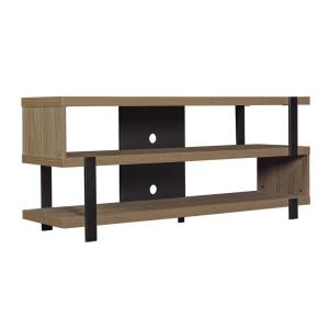 Bell'O Oak Harbor TV Stand for 60 inch TVs in Oyster Walnut by