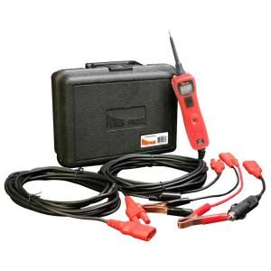 Power Probe Circuit Tester with Case and Accessories - Red