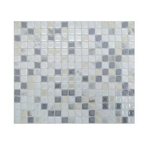 wall tile backsplash in grey 12 piece sm1036 12 the home depot