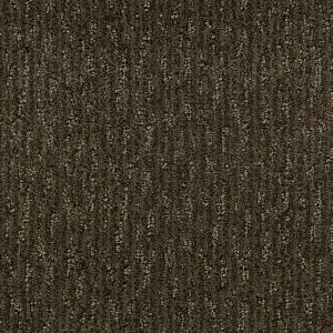 Martha Stewart Living Preston Garden - Color Molasses 6 in. x 9 in. Take Home Carpet Sample