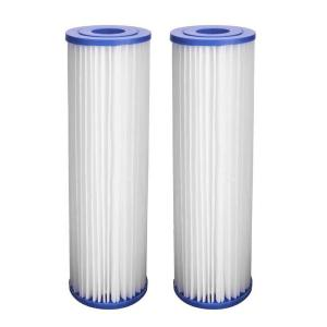 HDX Universal Fit Pleated Whole House Water Filter (2-Pack) by
