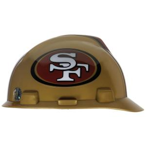 MSA Safety Works San Francisco 49ers NFL Hard Hat