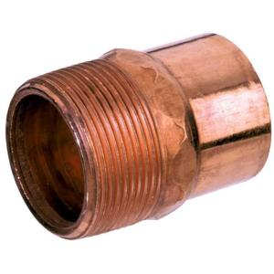 Mueller Streamline 1/2 in. Copper Pressure C x MIP Adapter