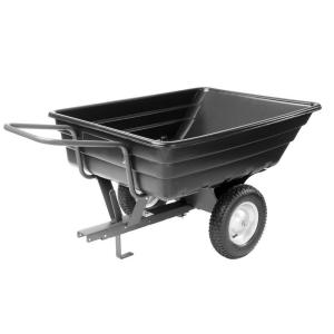 Precision 12 cu. ft. Push-Pull Poly Dump Cart-DISCONTINUED