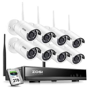 Number of Cameras Included: 8 in Wireless Security Camera Systems