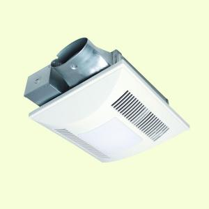 panasonic 80 cfm ceiling or wall mount exhaust fan with light energy. Black Bedroom Furniture Sets. Home Design Ideas