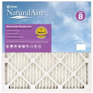NaturalAire 10 in. x 30 in. x 1 in. Best FPR 8 Pleated Air Filter, Case of 12