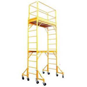 Fortress 12 ft. x 6 ft. x 29 in. Rolling Drywall Scaffold Unit 1000 lb. Load Capacity