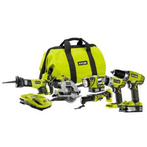 Ryobi ONE+ 18-Volt Lithium-Ion ULTIMATE Combo Kit (6-Tool)