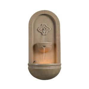 Galway 35 inch Coquina Wall Fountain by