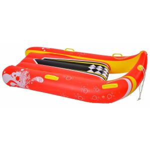 Blue Wave Power Glider 57 inch 2-Person Inflatable Snow Sled by Blue Wave