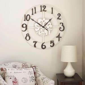 Household Essentials Numbers Wall Clock by Household Essentials