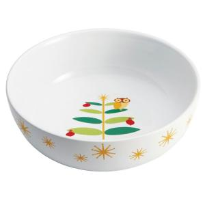 Click here to buy Rachael Ray Holiday Hoot 10 inch Serving Bowl by Rachael Ray.
