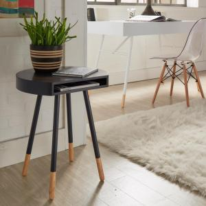 Calla Midnight Open End Accent Table