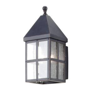 Hampton Bay Holland Collection 2-Light Mediterranean Outdoor Bronze Wall Lantern