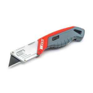 Click here to buy Wiss Quick Change Folding Utility Knife by Wiss.