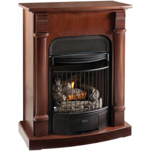 Procom 29 In Convertible Vent Free Propane Gas Fireplace In Java