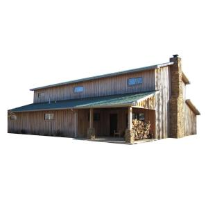 48 Ft X 60 Ft X 20 Ft Wood Garage Kit Without Floor