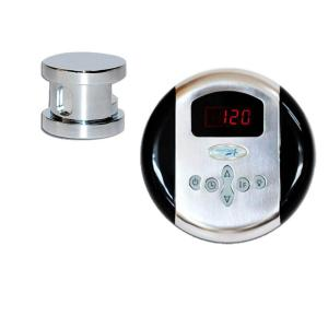 SteamSpa Oasis Steam Bath Generator Control Kit in Chrome by