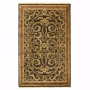 Home Decorators Collection Colette Black 12 Ft. x 15 Ft. Area Rug